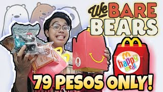 McDonald's WE BARE BEARS Happy Meal Toys 2020 | Complete Set | We Bare Bears Collection