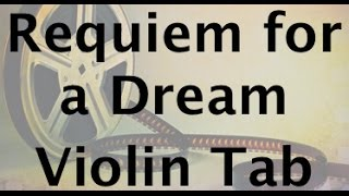 Learn Requiem for a Dream on Violin - How to Play Tutorial