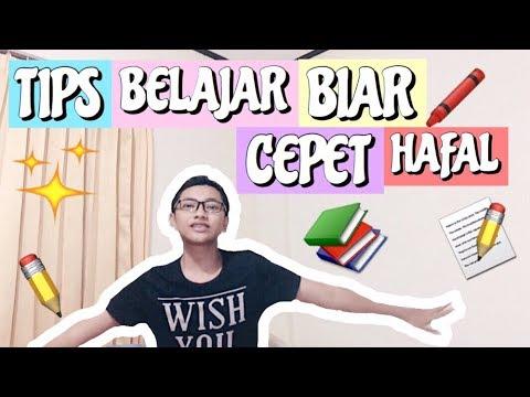 TIPS BELAJAR BIAR CEPAT HAFAL | HOW I STUDY (bahasa indonesia)