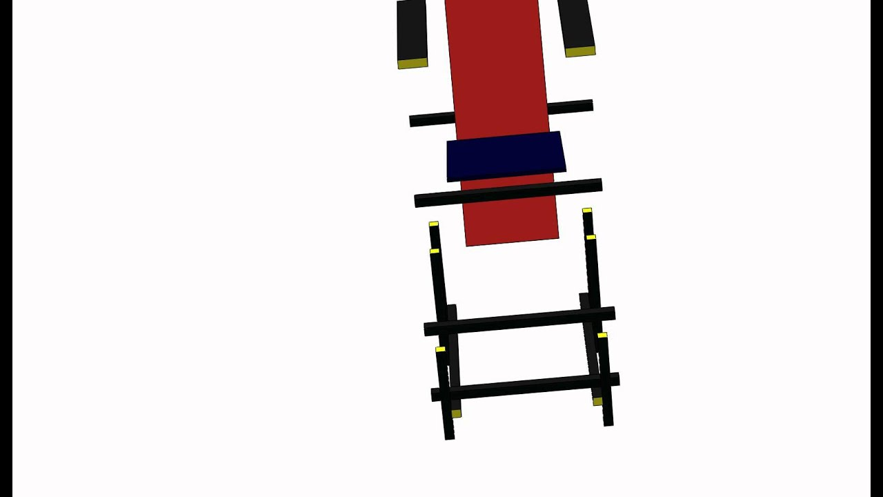 Chaise rouge et bleue de rietveld youtube - La chaise rouge et bleue de gerrit rietveld ...