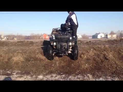 Тест квадроцикла Stels ATV 800 D от мотосалона Stelsland