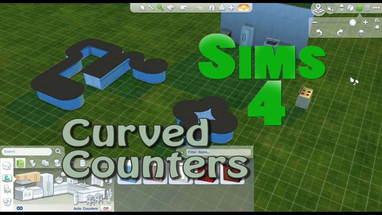 Sims  How To Make An Island In The Kitchen