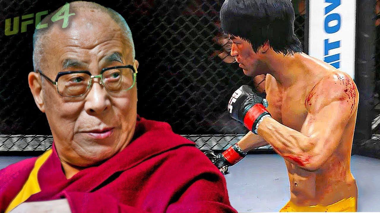 UFC4 | Dalai Lama vs. Bruce Lee (EA sports UFC 4)