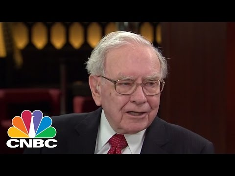 Warren Buffett On Trade Surplus, Marissa Meyer's Severance Package | CNBC