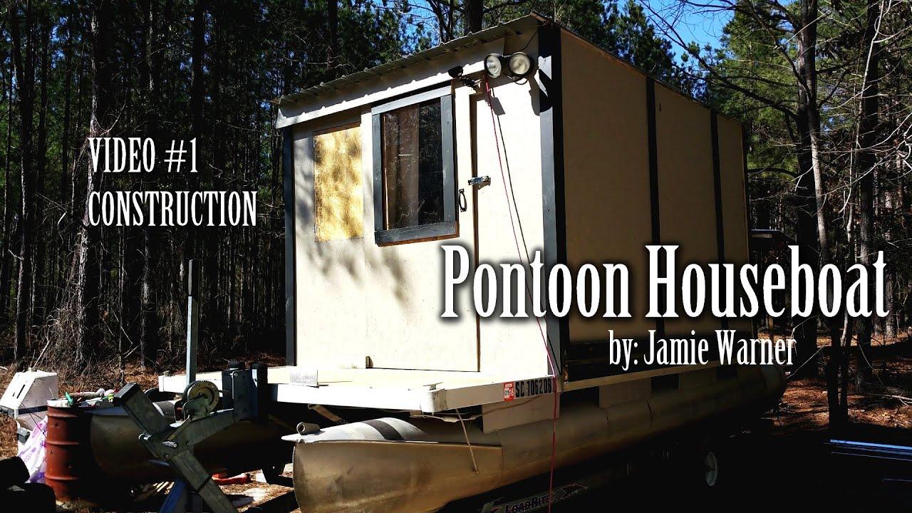 Pontoon Houseboat Video 1 YouTube