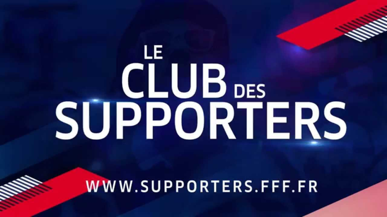 le club des supporters de l 39 equipe de france youtube. Black Bedroom Furniture Sets. Home Design Ideas