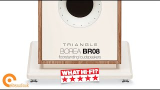Triangle's BOREA BR08 floorstanders get 5star What Hi-Fi? review
