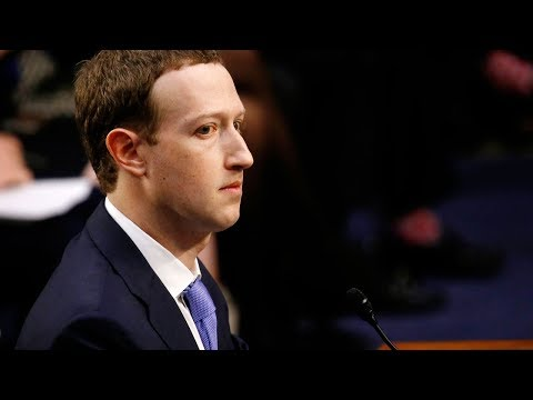 Facebook CEO Mark Zuckerberg testifies on data scandal for a 2nd day before Congress