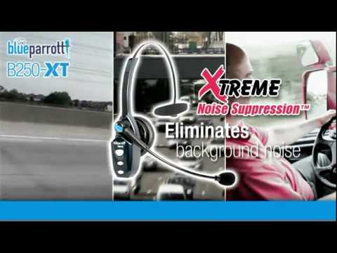 Blueparrott Roadwarrior B250-XT Bluetooth Headset, Amigo! From VXi Corporation