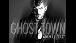 Adam Lambert - Ghost Town слушать онлайн в высоком качестве, быстро грузится при медленном интернете
