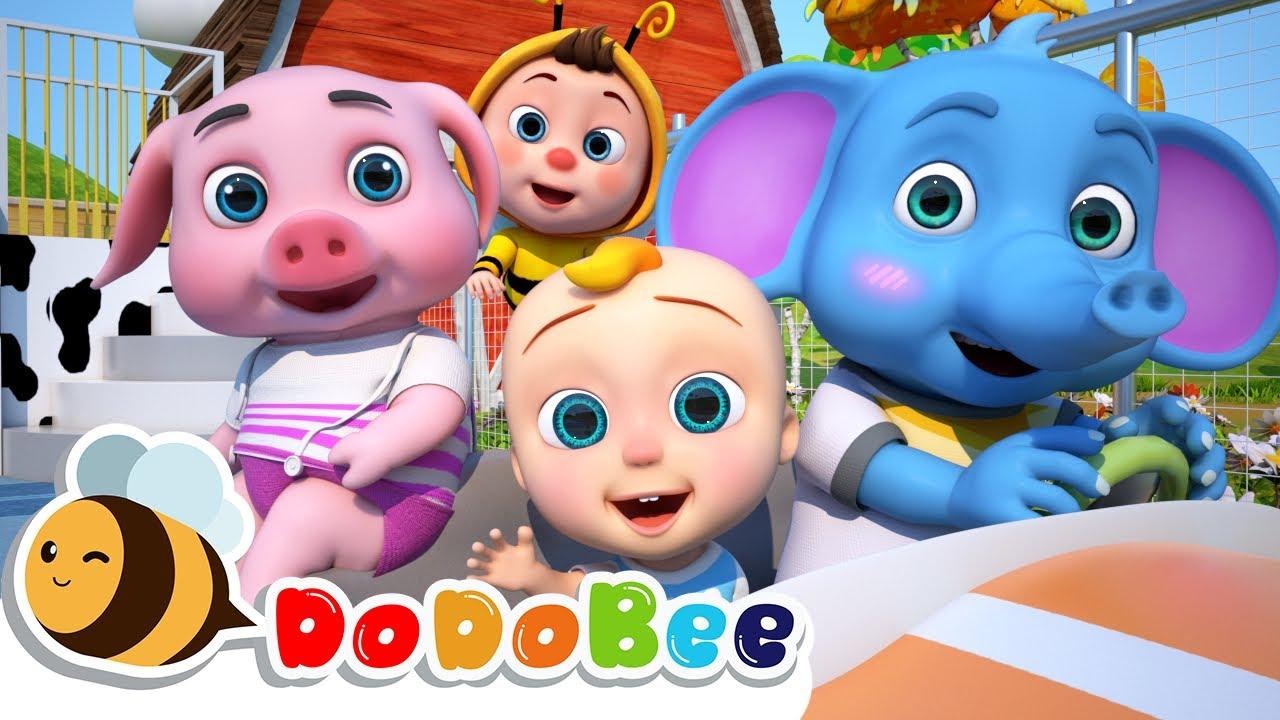 Wheels On The Bus | More Nursery Rhymes & Kids Songs - DoDoBee - Kids Songs