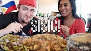 FILIPINO FOOD MUKBANG Sisig 🇵🇭