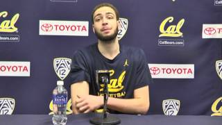 Cal Men's Basketball: Kameron Rooks Press Conference (1/25/16)