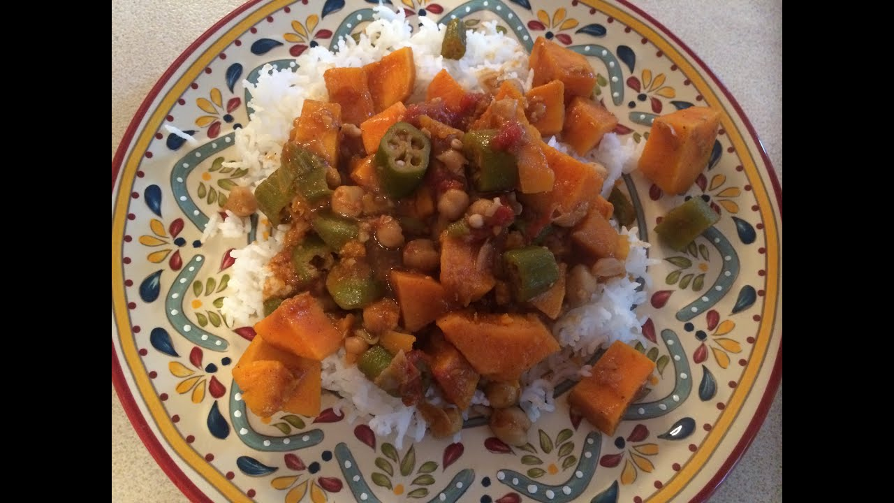 Spicy Chickpea Sweet Potato Stew Recipe - YouTube
