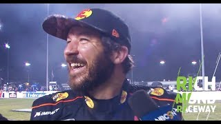 Martin Truex Jr. spins and wins: 'Luckily I didn't hit anything': Richmond Raceway