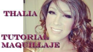 Transformacion Thalia (Maquillaje)