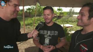 Thrice - Interview @ Highfield Festival | 19.08.2016
