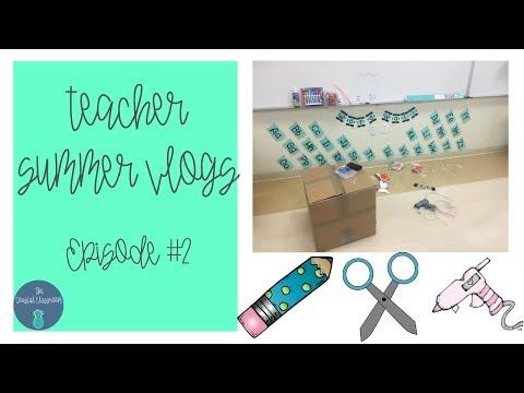 Teacher Vlog   Classroom Setup Week 1