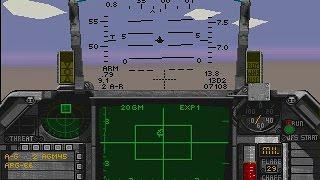 "Falcon 3.0 (PC/DOS) SEAD Strike Mission ""Hi-Fidelity"" Gameplay 1991-94, Spectrum Holobyte"