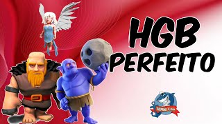 HGB ATAQUE MORTAL - ESTRATÉGIA DA MODA CV9 - Clash of Clans Supercell