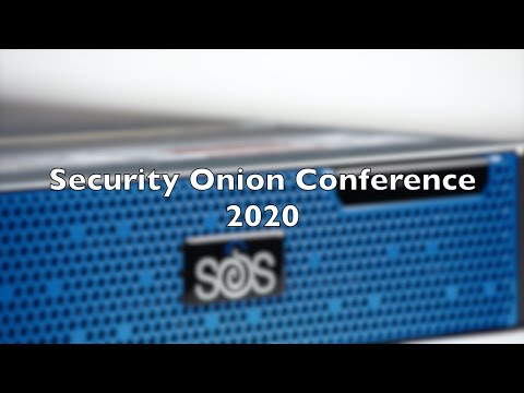 Security Onion Conference 2020: Security Onion 2 Release Announcement And Live Demo!