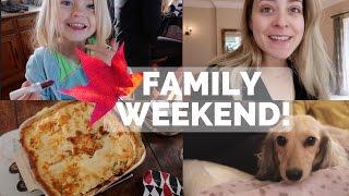BIG FAMILY WEEKEND! Vlogtober 1 & 2