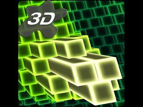 Neon Cubes Cells Particles Android 3D Live Wallpaper