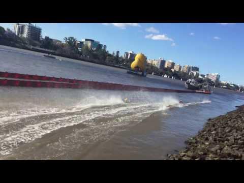Final Of The Motorised Team Duck Race 2016