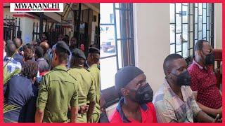 VIDEO: Chadema's Mbowe arrives at Kisutu Resident Magistrate