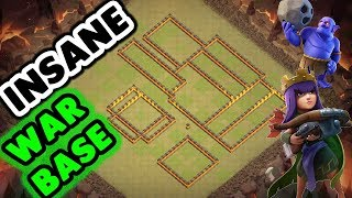 Best Th10 (Town Hall 10) War Base With Replay Anti All Troops Anti 3 Star Anti 2 Star Clash Of Clans