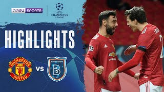 Manchester United 4-1 İstanbul Başakşehir | Champions League 20/21 Match Highlights