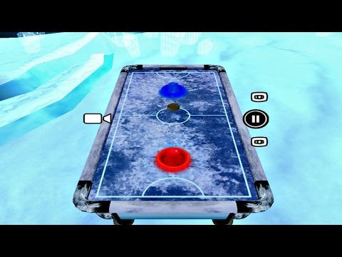 Air Hockey - Ice to Glow Age: PC Gameplay (Windows 10 Free Games)