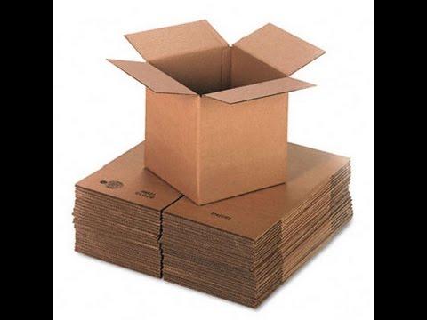 cum se fabrica cutiile din carton