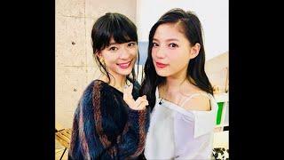 芳根京子、E-girls石井杏奈と2ショット Please Subcriber !