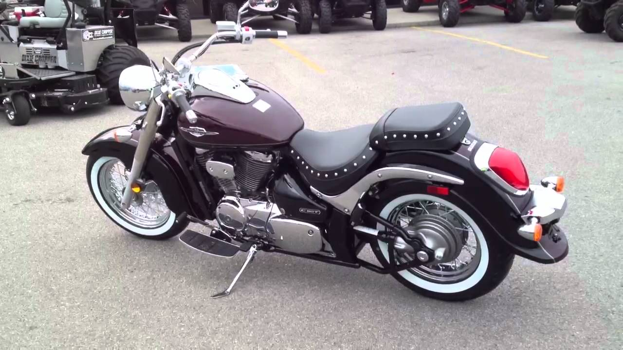 2012 Suzuki Boulevard C50T Clic at Tommy's MotorSports - YouTube