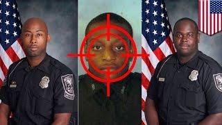 Cop shoot cop: Atlanta officer shot by partner during bungled burglary response - TomoNews