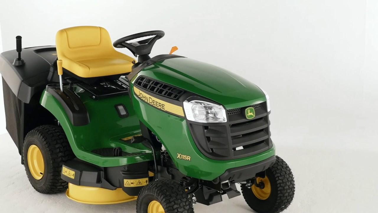John Deere X115r Lawn Tractor 36 Rear Discharge Deck