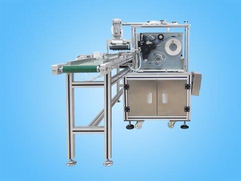 Real time printing top plane labeling machine التلقائي آلة وسم