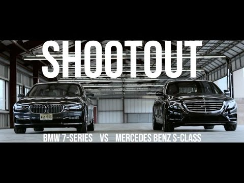 Shootout: 7 Series vs. S-Class for luxury motoring