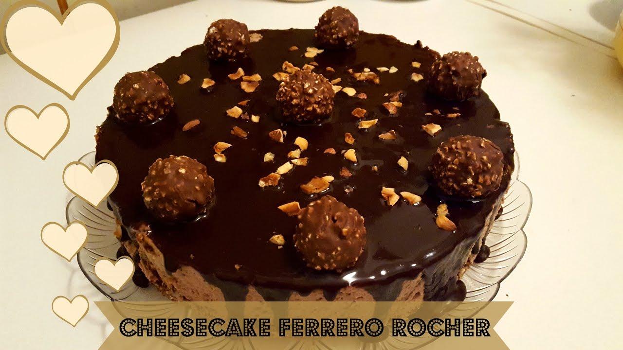 Favorito ♡Cheesecake Ferrero Rocher ♡ Superfacile Senza cottura e  SJ35