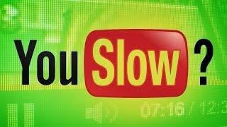 Смотреть видео тормозит интернет на слабом компе