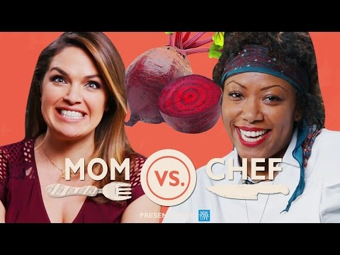 Thumbnail: Mom Vs. Chef: Battle Beets // Sponsored By New York Life