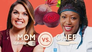 Mom Vs. Chef: Battle Beets // Sponsored By New York Life