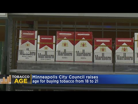 Minneapolis City Council Unanimously Raises Age To Buy Tobacco