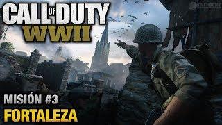 Call of Duty: World War II - Misión #3 - Fortaleza (Español/Sin Comentario - 1080p 60fps)
