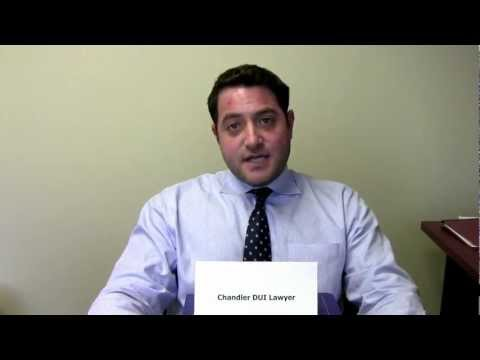 Attorney David Black discusses how to handle DUI in Chandler Arizona