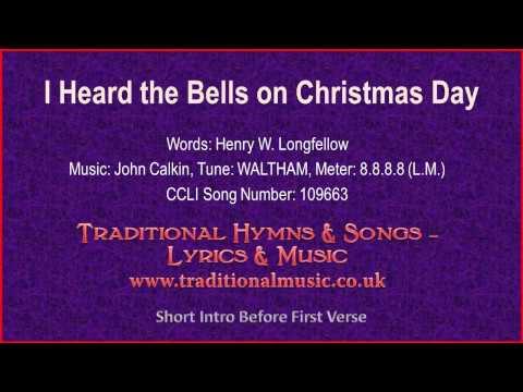 I Heard The Bells On Christmas Day(BH098~Longfellow) - Christmas ...