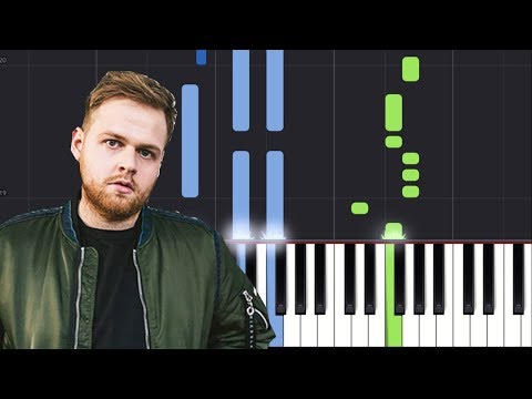 """Tom Walker - """"LeaveA Light On"""" Piano Tutorial - Chords - How To Play - Cover"""
