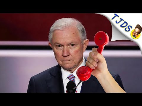 """Jeff Sessions Threatens Jimmy Dore With Jail For """"Doing Marijuana""""."""