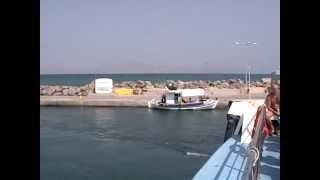 C Коса на Калимнос на кораблике. Греция(Из порта Мастихари (о. Кос) на быстроходном кораблике Kalymnos Dolphin(Дельфин Калимноса) можно добраться на о. Кали..., 2012-04-11T04:45:06.000Z)